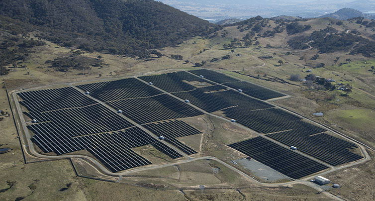 Frv Opens Royalla Solar Farm The Largest Operating Solar